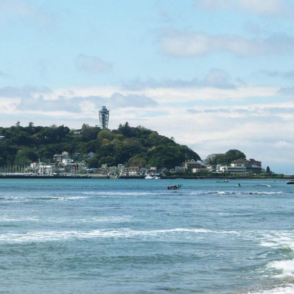 江ノ島のライブカメラ(片瀬東浜海水浴場)|神奈川県藤沢市
