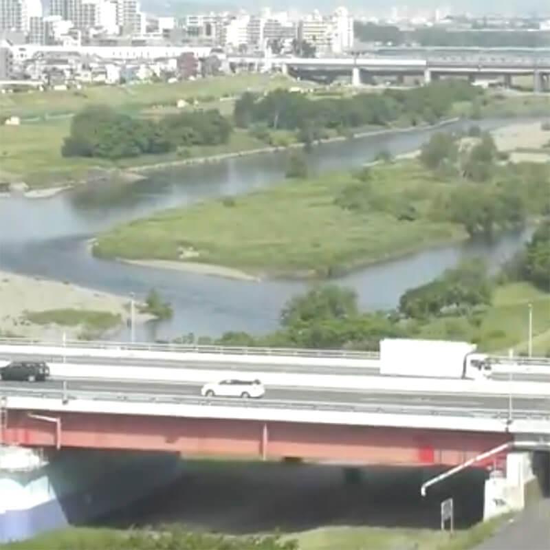 多摩川のライブカメラ|東京都世田谷区