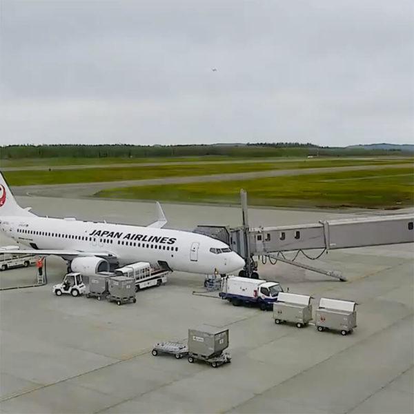 とかち帯広空港のライブカメラ|北海道帯広市