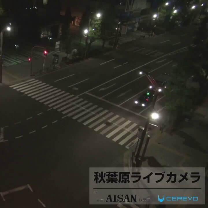 秋葉原(中央通り交差点)のライブカメラ|東京都千代田区