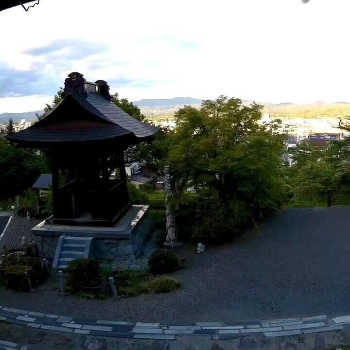 霊桃寺のライブカメラ|岩手県奥州市