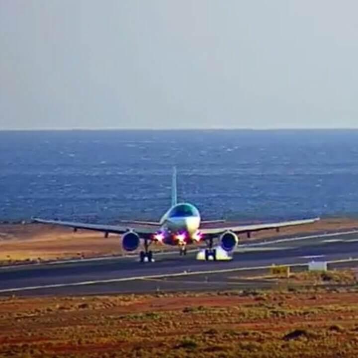 ランサローテ空港のライブカメラ/Lanzarote Airport|スペインカナリア諸島