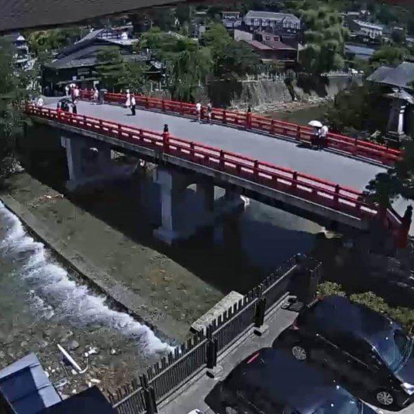 飛騨高山・中橋|岐阜県高山市ライブカメラ映像の配信・観光
