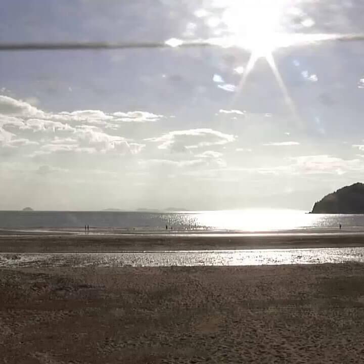 父母ヶ浜のライブカメラ|香川の天空の鏡!香川県三豊市