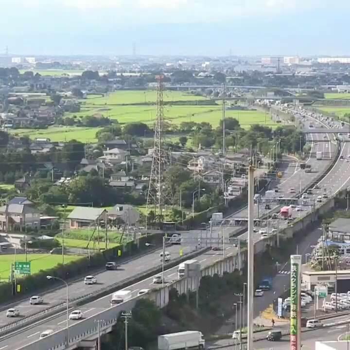 東北自動車道久喜白岡ジャンクションのライブカメラ|埼玉県久喜市