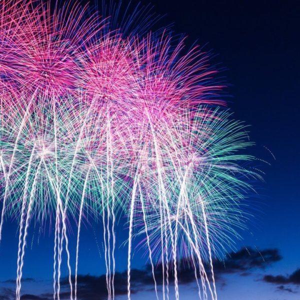 あしだ川花火大会2018のライブカメラ・広島県福山市