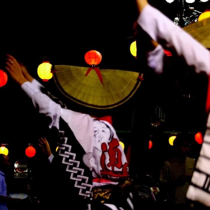 いけだ阿波踊り2018のライブカメラ・徳島県池田町