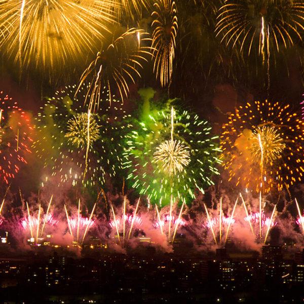 長岡まつり大花火大会のライブカメラ|新潟県長岡市【限定配信】