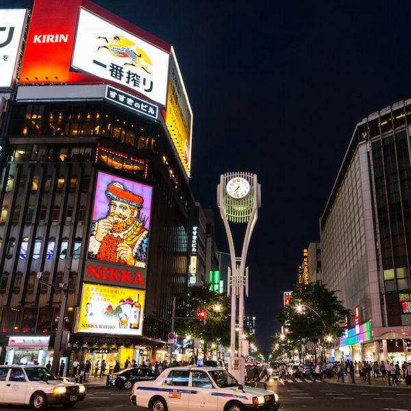 すすきの駅前通りのライブカメラ・北海道札幌市
