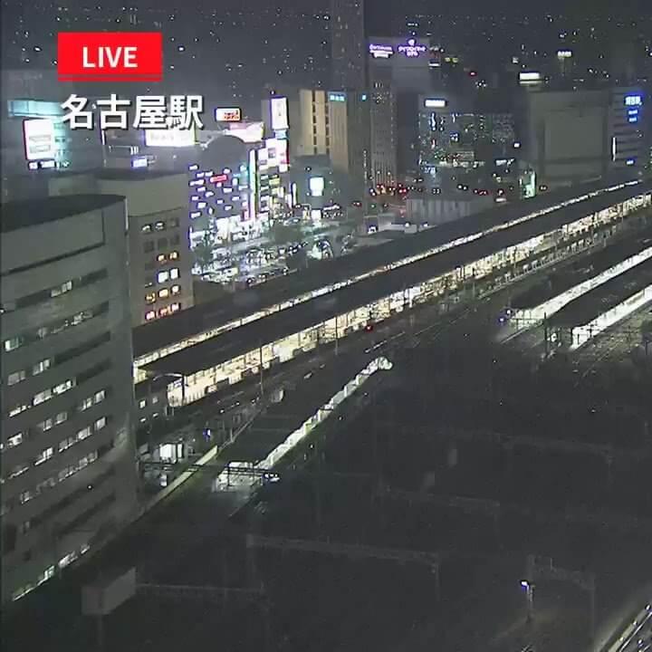 台風21号(チェービー)のライブカメラ・愛知県名古屋市