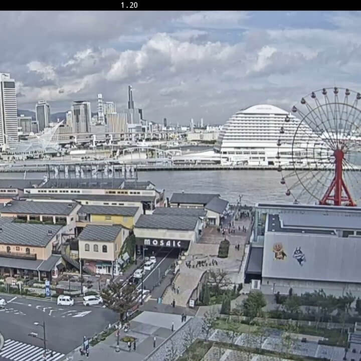 神戸ハーバーランドのライブカメラ|兵庫県神戸市中央区