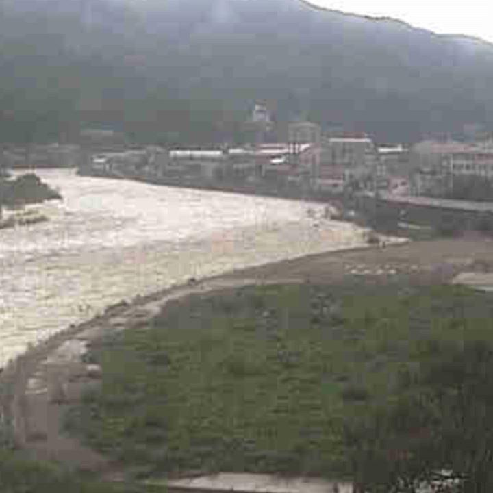 飛騨川河川公園のライブカメラ・岐阜県下呂市
