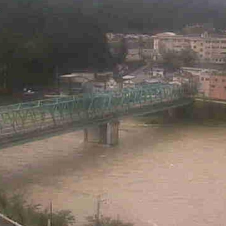 飛騨川(金山振興事務所)のライブカメラ・岐阜県下呂市