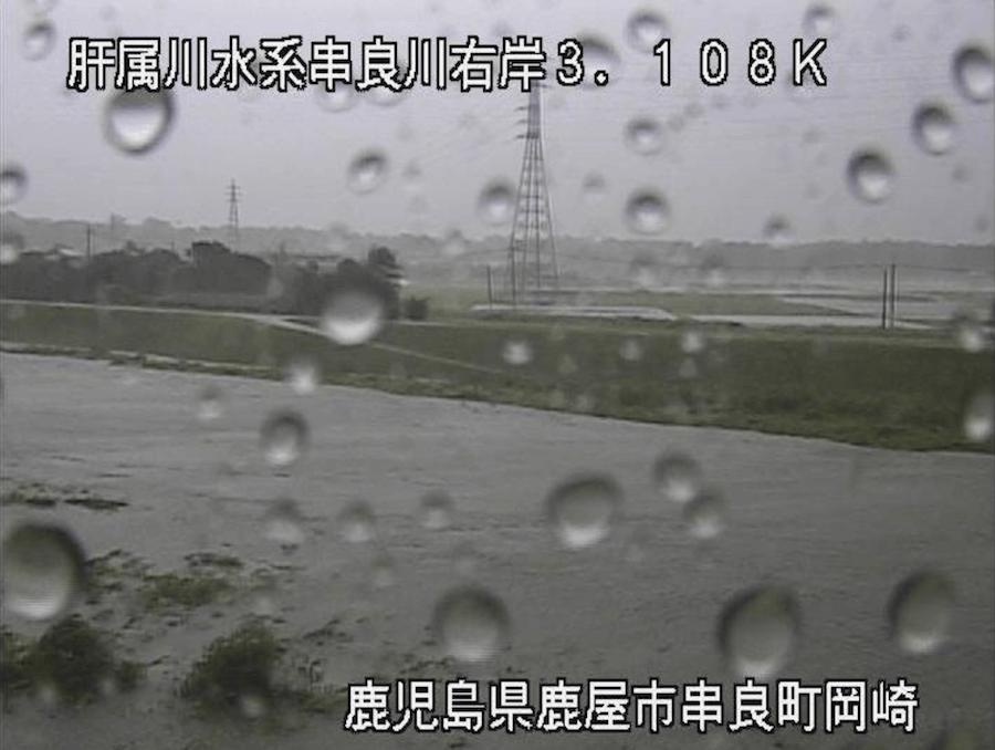 串良川右岸(岡崎)のライブカメラ・鹿児島県鹿屋市