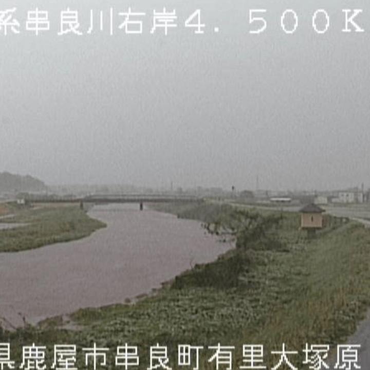 串良川右岸(大塚原)のライブカメラ・鹿児島県鹿屋市