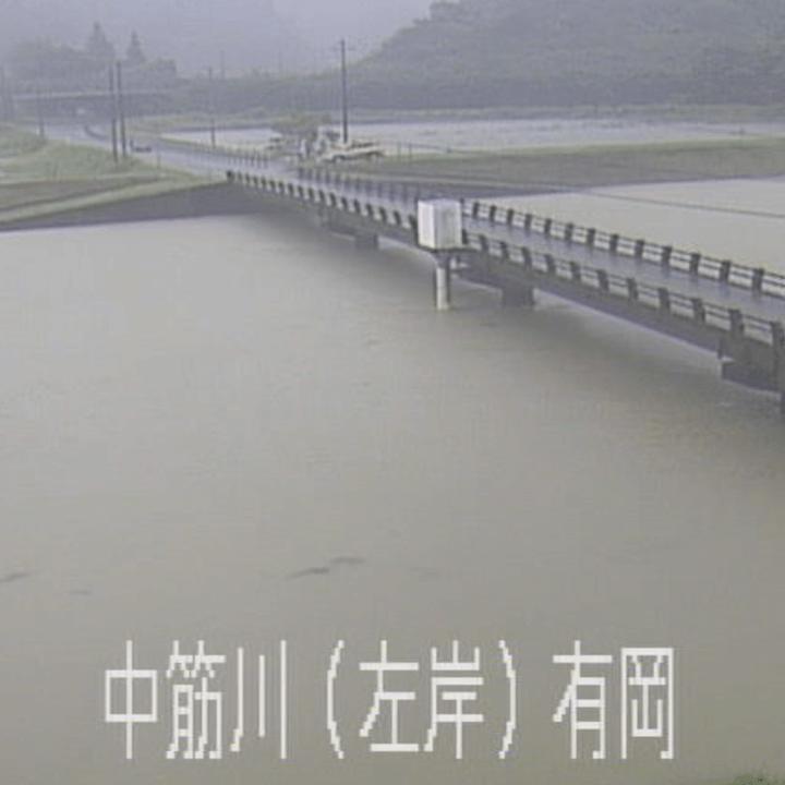 中筋川左岸(有岡)のライブカメラ・高知県四万十市