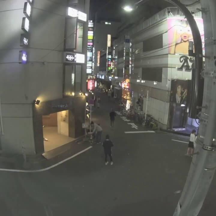 歌舞伎町のライブカメラ・東京都新宿区