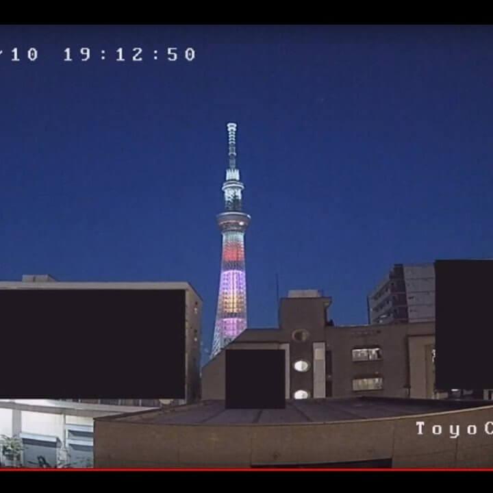 東京スカイツリー(吾妻橋)のライブカメラ|東京都墨田区
