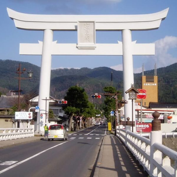 出雲大社(神門通り)のライブカメラ・島根県出雲市