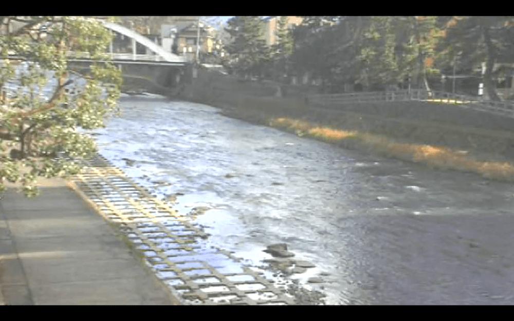 浅野川のライブカメラ|石川県金沢市