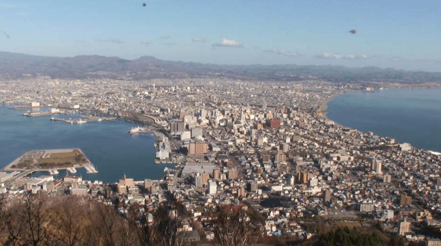 函館山ロープウェイのライブカメラ|北海道函館市