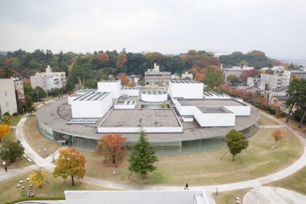 金沢21世紀美術館のライブカメラ|石川県金沢市