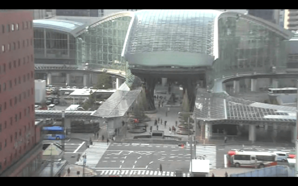 金沢駅前のライブカメラ|石川県金沢市