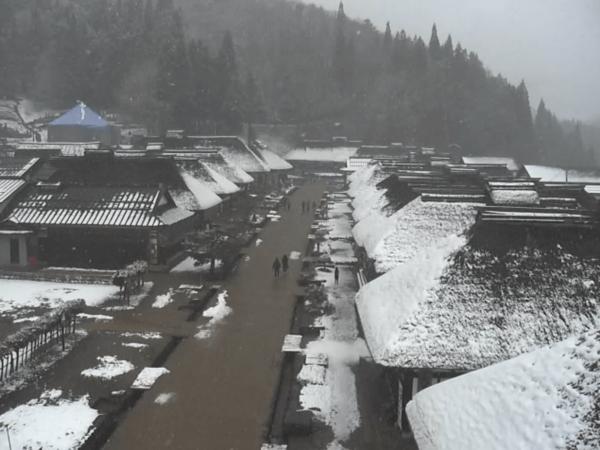 大内宿のライブカメラ|福島県下郷町