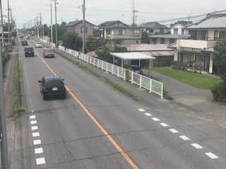 群馬県道2号新田金井十字路付近のライブカメラ|群馬県太田市