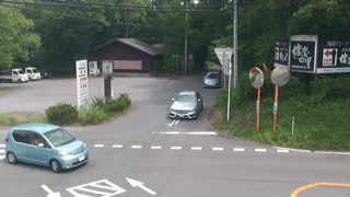 群馬県道235号鬼押出ハイウェイ交差点のライブカメラ|群馬県嬬恋村