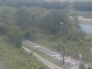 利根川自転車道のライブカメラ 群馬県前橋市