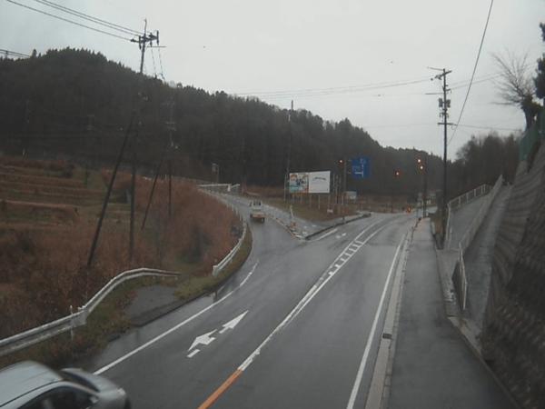 国道182号油木ライブカメラ 広島県神石郡神石高原町