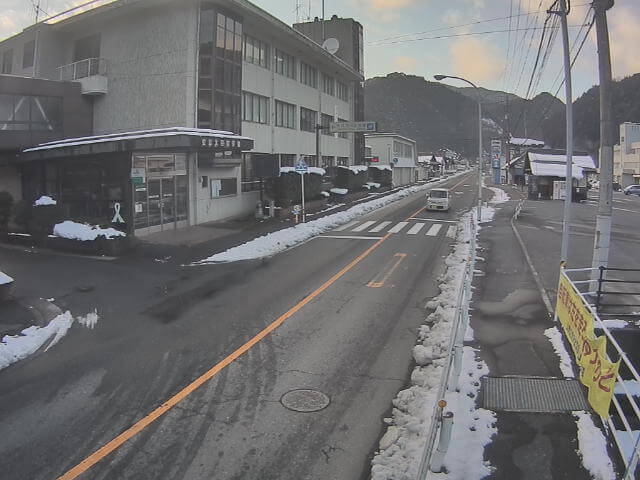 国道191号戸河内のライブカメラ|広島県安芸太田町