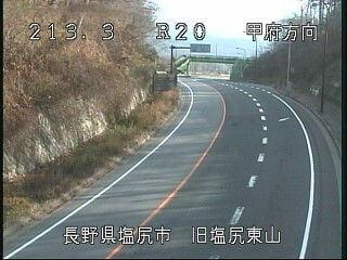 国道20号東山のライブカメラ|長野県塩尻市
