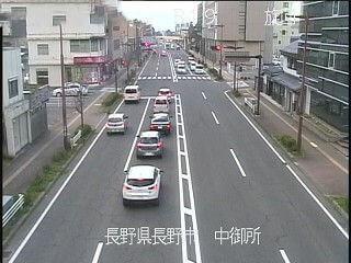 国道19号中御所のライブカメラ|長野県長野市