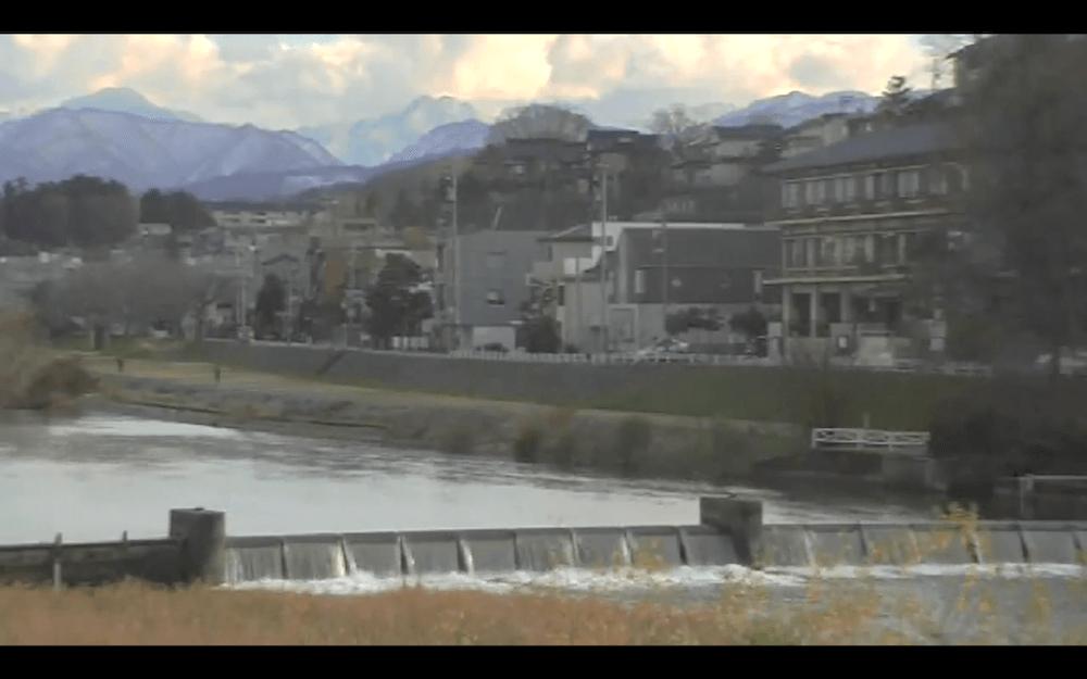 犀川のライブカメラ|石川県金沢市