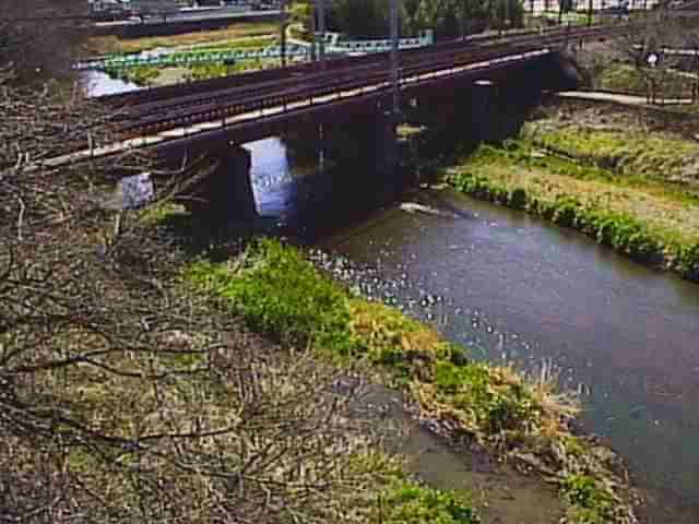 芹川上芹橋のライブカメラ|滋賀県彦根市