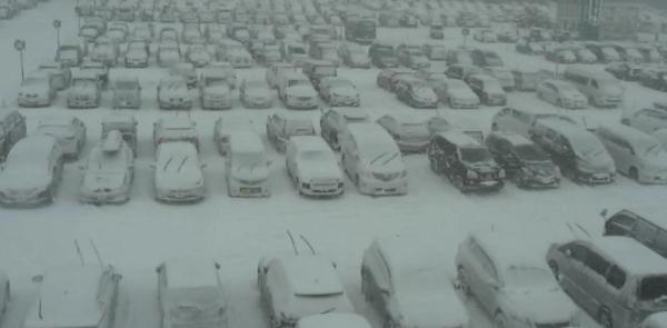 新千歳空港A駐車場のライブカメラ|北海道千歳市