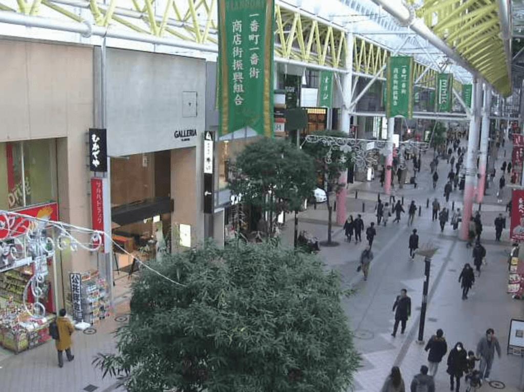 仙台市一番町一番街商店街VLANDOMEのライブカメラ|宮城県仙台市青葉区