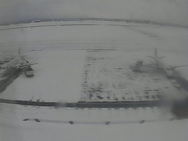 札幌丘珠空港のライブカメラ|北海道札幌市東区