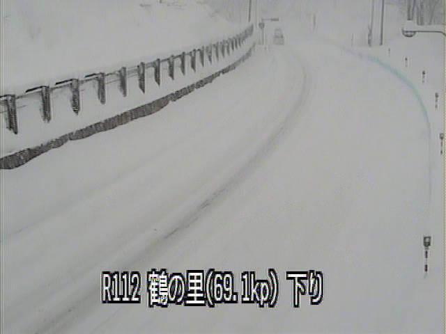 国道112号鶴の里のライブカメラ|山形県鶴岡市