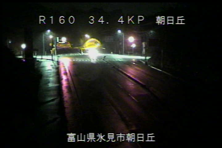 国道160号 朝日丘のライブカメラ|富山県氷見市