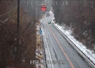 国道19号 上郷のライブカメラ|長野県大桑村