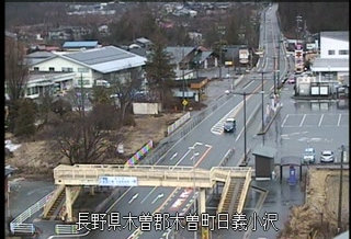 国道19号 木曽維持出張所のライブカメラ|長野県木曽町