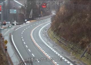 国道19号線 寝覚登坂のライブカメラ|長野県上松町