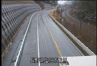 国道19号 贄川駅前のライブカメラ|長野県塩尻市