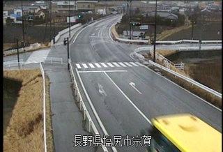 国道19号洗馬のライブカメラ|長野県塩尻市