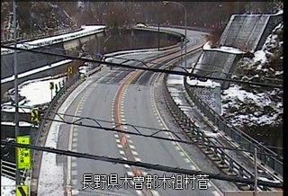 国道19号 獅子岩橋のライブカメラ|長野県木祖村