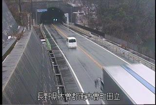 国道19号 賤母トンネル南のライブカメラ|長野県南木曽町