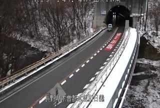国道19号 山吹トンネル南のライブカメラ|長野県木曽町